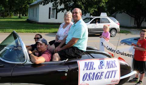 Mr And Mrs Swarts Named As Mr And Mrs Osage City Osage - Osage city ks car show
